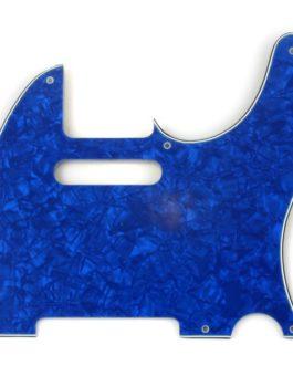 Tele Blue Pearloid 3-Ply 8 H .090