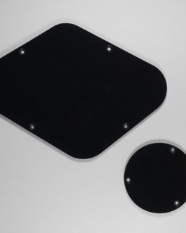 Les Paul Backplates (Switch  Et  Electro) Black