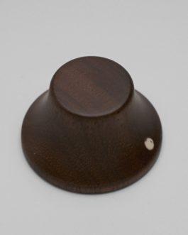 Bell Knob Walnut Push-On (2)