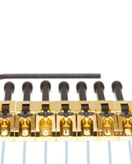 7 X Floyd Rose Saddles Ghost Loaded Gold