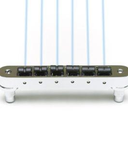 GHOST LOADED RESOMAX NV 4mm TUNE-O-MATIC BRIDGE CHROME