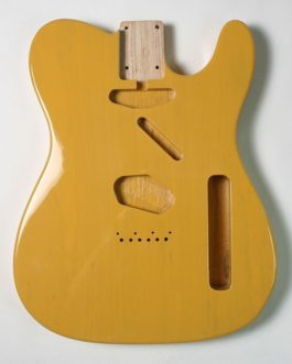 Tele Swamp Ash Butter Scotch
