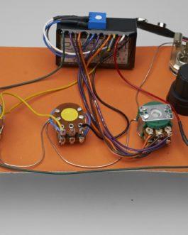 Bartolini Active Preamp 2 Bandhr3.3-Ap (Vol-Blend-Trebl/Bass)