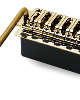 Wilkinson Vintage Tremolo Set (6 Vis+Steel Block) Gold