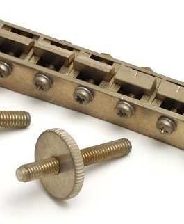 Lp Gotoh Bridge Vintage Narrow 4.5Mm Holes Nickel Aged
