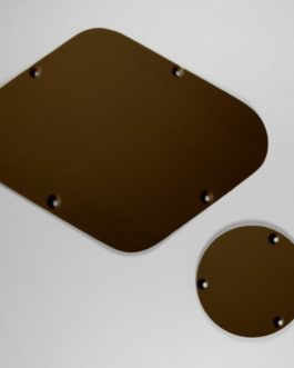 Backplates For Lespaul (Switch  Et Electro) Brown