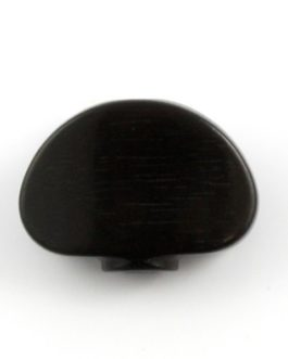 BUTTONS FOR GROVER® MACHINE HEADS LARGE SIZE EBONY (6pc)