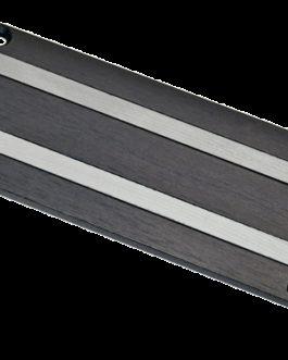 Lace Bass Bar 4.0 Black Anodized
