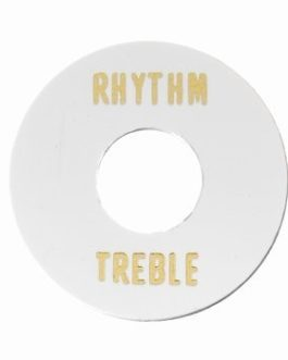 Toggle Ring Treble/Rythm White