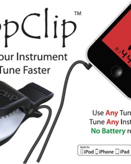 !! DISCONTINUED !! APPCLIP- ANY INSTRUMENT, ANY APP, ANYWHERE TUNE FASTER
