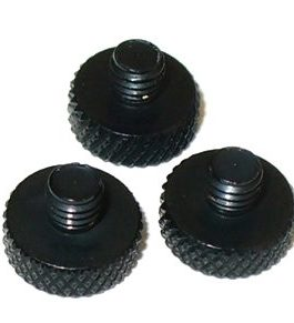 Replacement Tremol-No Screws Black (3Pcs)