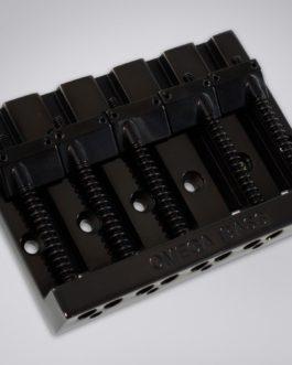 5-String Omega Bass Bridge Black
