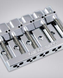 5-String Omega Bass Bridge Chrome