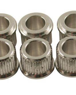 Kluson Adapter Bushings Metric Nickel Dia 6Mm/10Mm (6)
