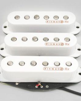 Kinman Knopfler Set (Impersonator A56/A56/A56) White