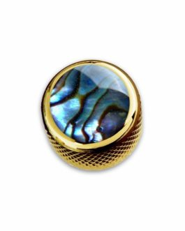 Q-Part Dome Gold Natural Abalone