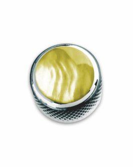 Q-Part Dome Chrome Gold Pearl