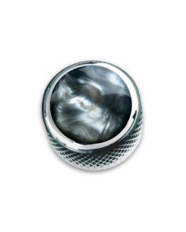 Q-Part Dome Chrome Acrylic Black Pearl