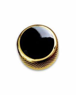 Q-Part Dome Gold Acrylic Black