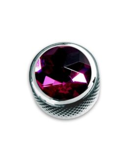 Q-Part Dome Chrome Purple Crystal