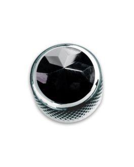 Q-Part Dome Chrome Black Onyx