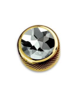 Q-Part Dome Gold Diamond Crystal