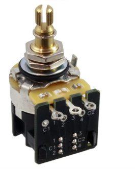 Cts 250K Push Pull Audio Pot 10% Tolerance (Bulk Pack 10Pcs)