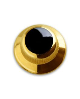!! DISCONTINUED !! Q-PART UFO GOLD ACRYLIC BLACK
