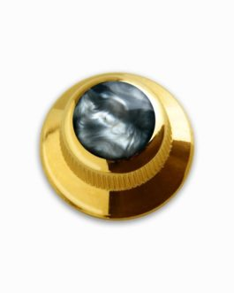 Q-Part Ufo Gold Acrylic Black Pearl