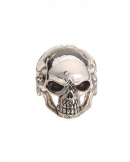 Q-Part Jumbo Skull I Chrome