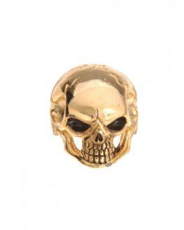 Q-Part Jumbo Skull I Gold