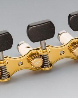 SCHALLER GRAND TUNE CLASSIC HAUSER GOLD BEARINGS / EBONY SQUARE