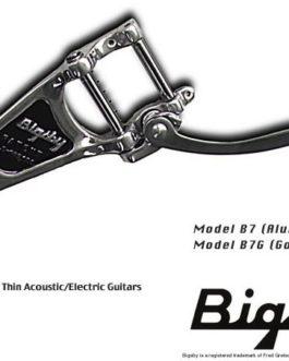 Bigsby B7 Nickel – No Bridge