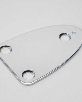 Neck Plate 3 Holes Chrome