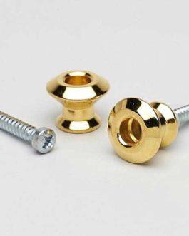 Dunlop Strap Lock Button Gold (2)