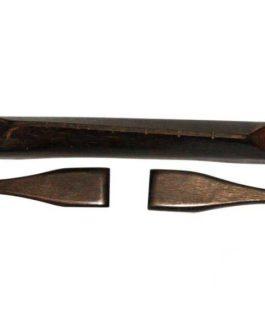 Chevalet Ebony Type Selmer 126X18Mm Av Moustaches Left-Hand