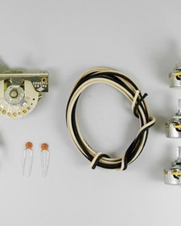 Strat Wiring Kit (Cts Pots, Crl Switch, Switchcraft Jack, Etc)