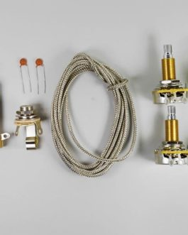 Lp Wiring Kit (Cts Lp Pots, Switchcraft Jack Et Switch, Wire,Etc)