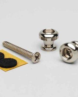 Goldo Strap Button Nickel (20 Bulk)