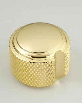 Bouton Duesenberg Style Art Deco Gold