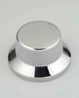 Bouton Type Strat Metal Chrome (Screw)