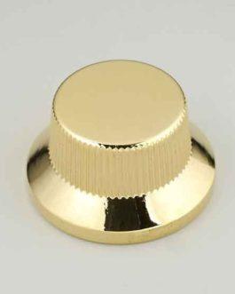 Bouton Type Strat Metal Gold (Screw)