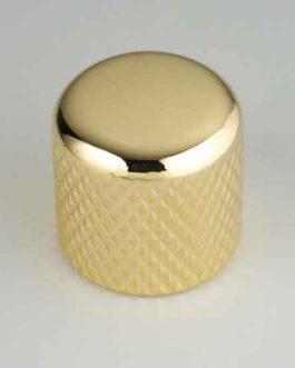 Dome Knob Gold 19 X 19     6.35Mm