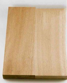 Blank Body Mahogany Sanded (48 X 35 X4.5 Cm)