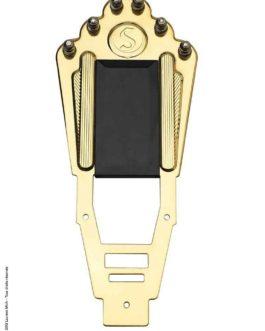 Cordier Manouche/Gypsy Tail/ Brass Black Plastic Plate