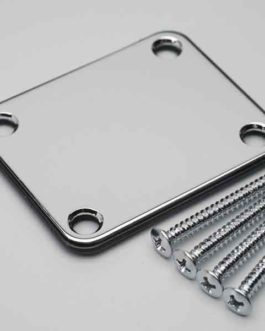 Neck Plate Deluxe Gotoh Kit Chrome