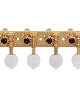 Gotoh Mandoline Tuner White Button Gold
