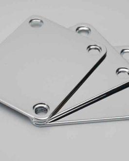 Neck Plate Standard Chrome (Bulk 3Pcs)