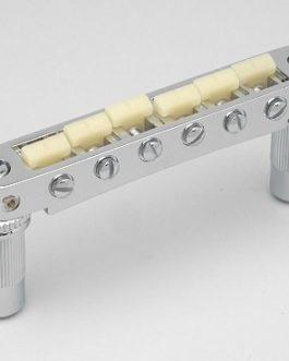 *TONEPROS TUNEOMATIC 6mm LARGE POSTS W/ G FORMULA SADDLES CHROME