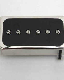 Duesenberg Domino Bridge Pickup Nickel Black